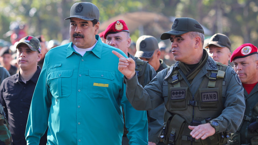 Министр обороны Венесуэлы заявил о верности Мадуро