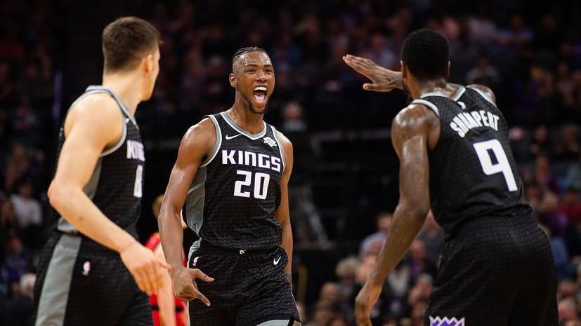Дабл-дабл Бэгли помог «Сакраменто» разгромить «Атланту» в матче НБА