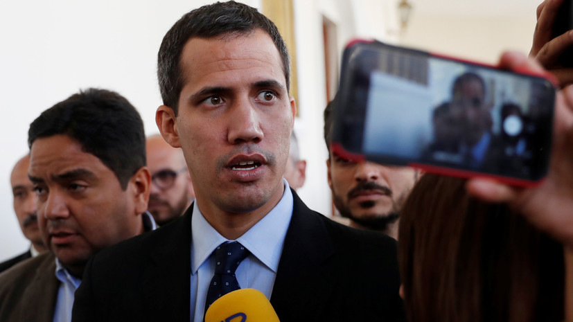 Европарламент признал Гуаидо временным главой Венесуэлы