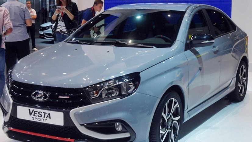 Губернатор Самарской области купил новую Lada Vesta Sport