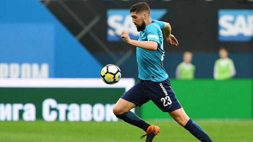СМИ: Футболист «Зенита» Мевля продолжит карьеру в Италии