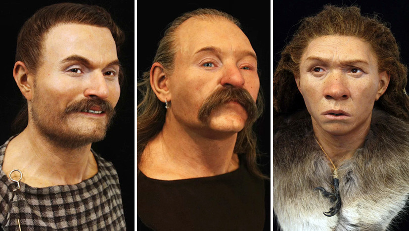 From Neanderthals to Cro-Magnon: Scientists Recreate the