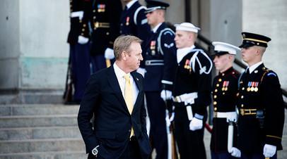 Исполняющий обязанности министра обороны США Патрик Шанахан