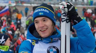 Шведский биатлонист Самуэльссон признался, что стал слишком зависим от телефона
