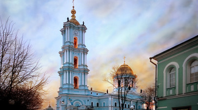 Преображенский кафедральный собор в городе Сумы