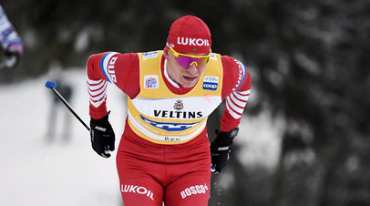 Большунов занял второе место в индивидуальной гонке на этапе КМ в Эстонии