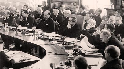 Заседание Лиги Наций в Лондоне, 1936 год