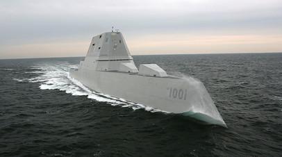 Эсминец класса Zumwalt Michael Monsoor