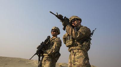 Военные США в Афганистане