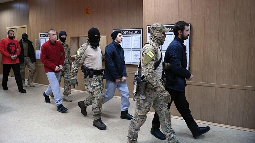 Защита задержанного украинского моряка просит перевести его в другую страну для лечения
