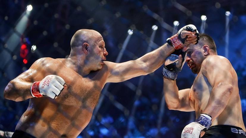 Генеральный секретарь Федерации бокса России назвал Емельяненко героем