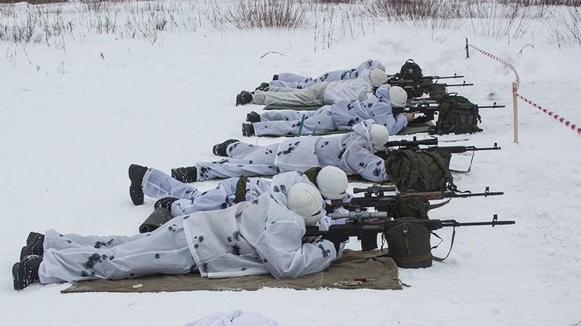 Снайперы ЗВО провели стрельбы под Петербургом