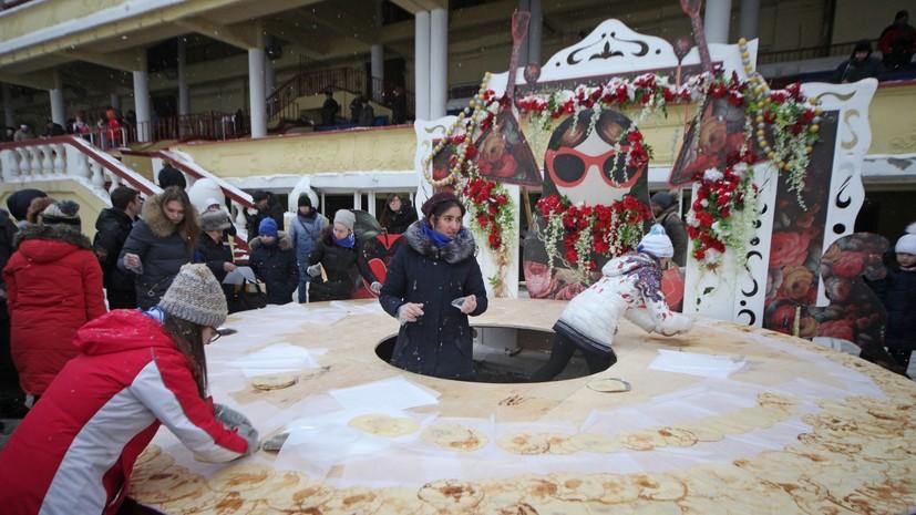 Фестиваль «Московская Масленица» будет проходить с 1 по 10 марта