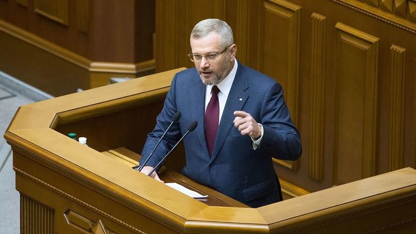 Кандидата в президенты Украины облили зелёнкой