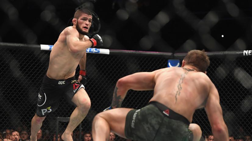 Нурмагомедов назвал удар своего тренера Макгрегору лучшим на UFC 229