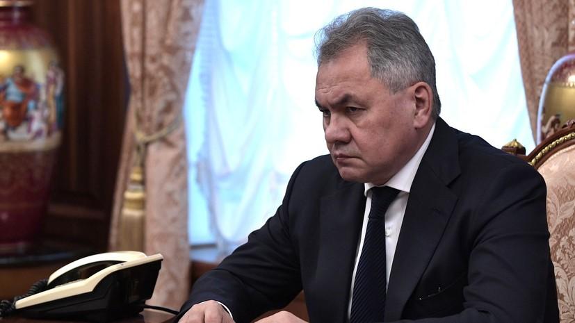 Шойгу рассказал об ответных мерах России на выход США из ДРСМД