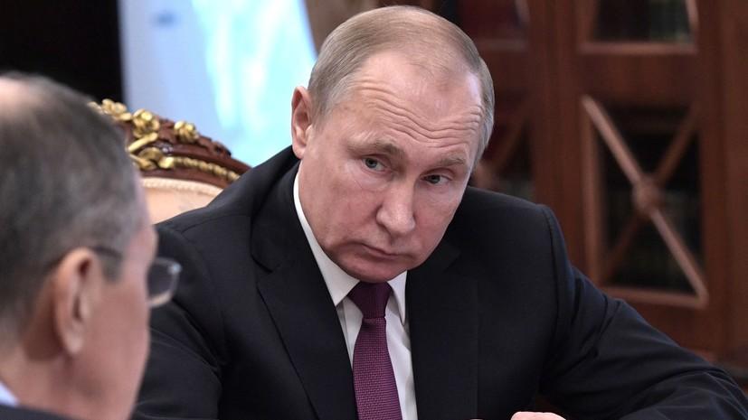 Путин: Россия не будет втягиваться в затратную гонку вооружений