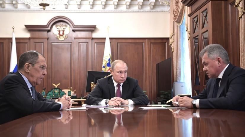Госдеп прокомментировал ответное решение России о приостановке участия в ДРСМД