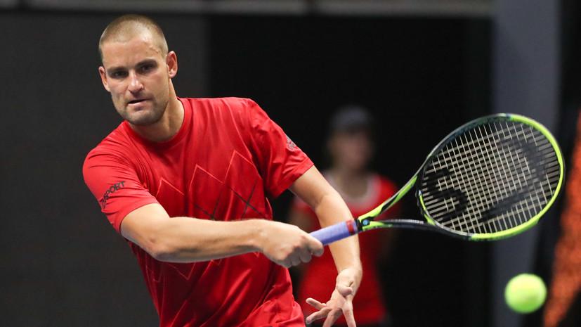 Теннисист Южный рассказал, обижен ли на Дзюбу за использование своего фирменного жеста