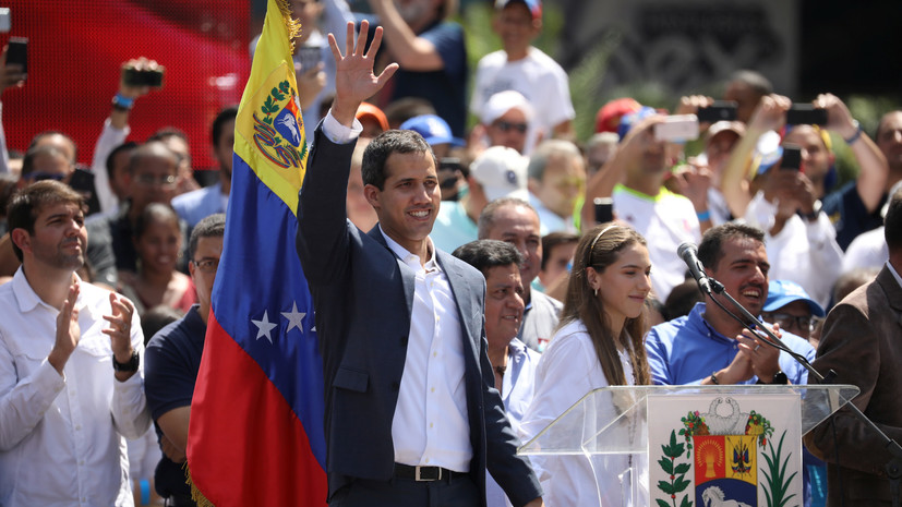 Франция признает Гуаидо главой Венесуэлы, если о новых выборах не объявят 3 февраля