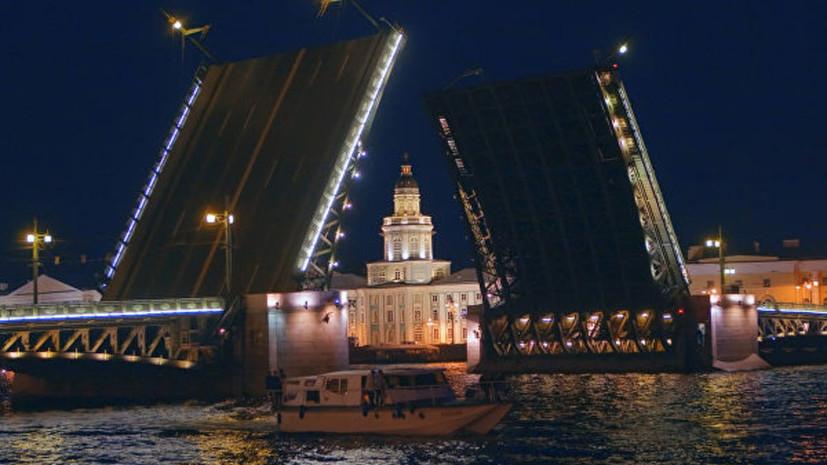Дворцовый мост в Петербурге подсветят красным в честь китайского Нового года