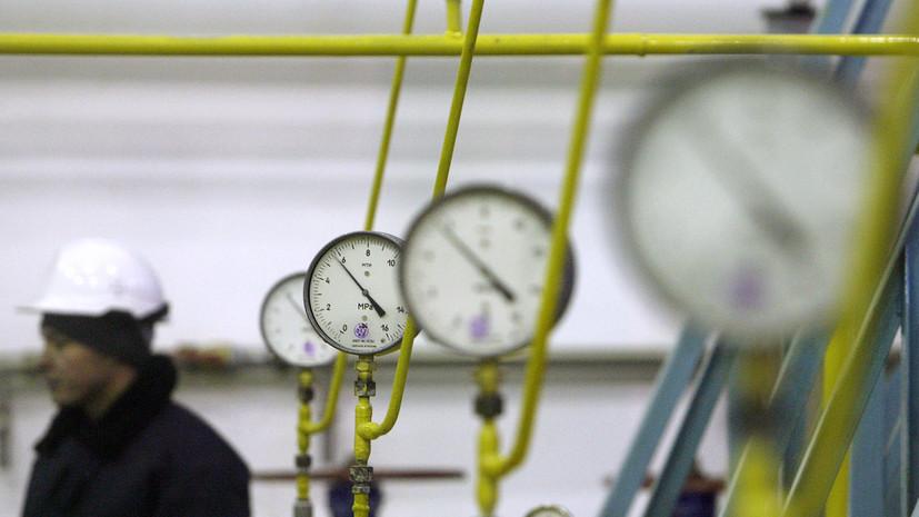 Украина в январе снизила импорт газа более чем в три раза