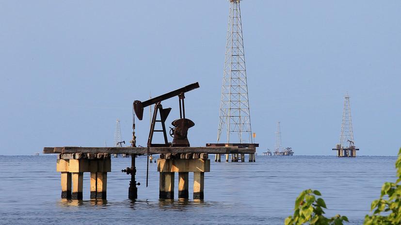 WSJ: санкции США привели к снижению экспорта нефти из Венесуэлы