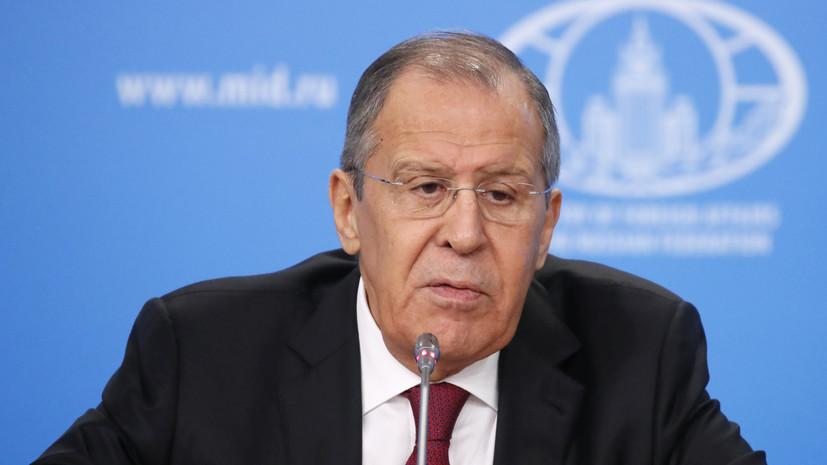 Лавров рассказал о первом шаге для заключения мирного договора с Токио