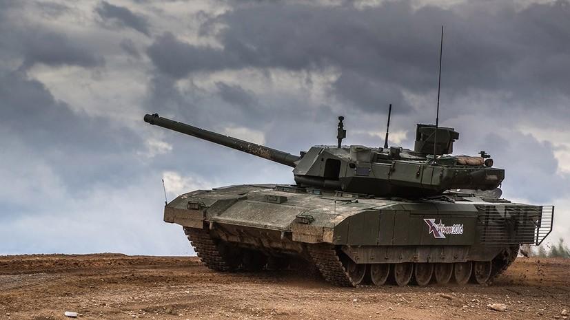 В России разрабатывают новейшую пушку для танка «Армата»
