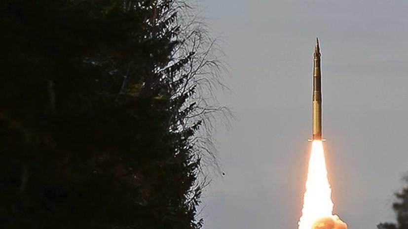 Минобороны провело пуск межконтинентальной баллистической ракеты «Ярс»