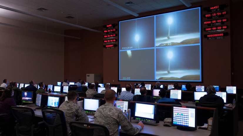 Военные США провели испытания межконтинентальной ракеты Minuteman III