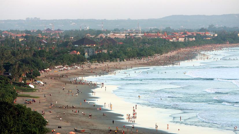 У берегов Индонезии произошло землетрясение магнитудой 5,7