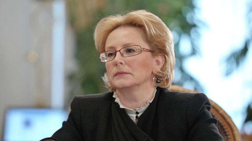 Скворцова назвала алкоголь главной причиной смертности мужчин в России
