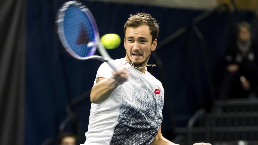Медведев обыграл Хасе и вышел в четвертьфинал турнира ATP в Софии