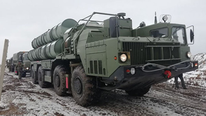 Дивизион ЗРК С-400 провёл учения в Крыму