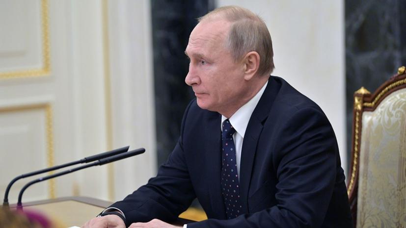 Насовещании Путина счленамиСБ РФобсуждались российско-белорусские отношения— Песков