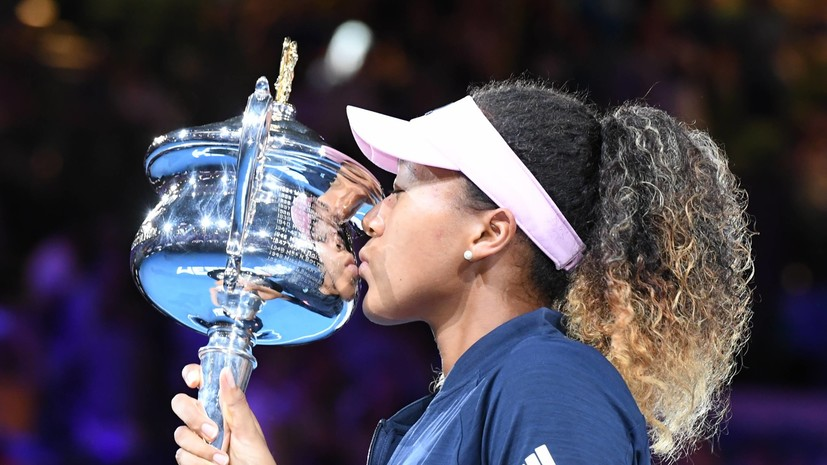 Японка Осака признана лучшей теннисисткой января 2019 года в мире