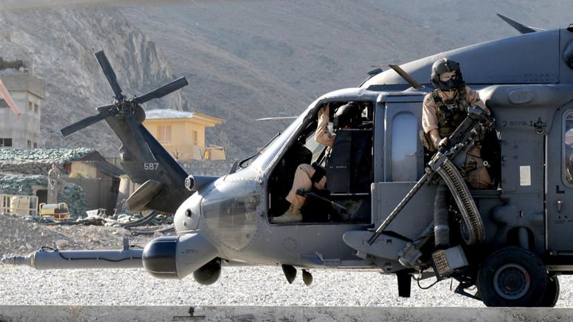 NYT: США усилили авиаудары по талибам