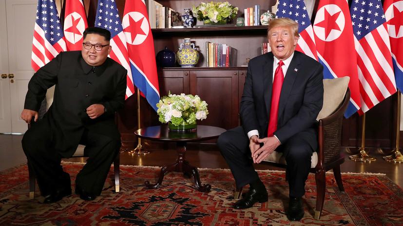 «У американцев нет рычагов влияния»: как слова Трампа об экономическом процветании КНДР повлияют на диалог с Пхеньяном