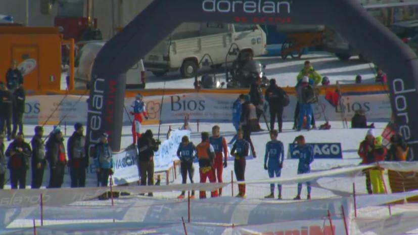 Россиянин Андреев в седьмой раз подряд выиграл ЧМ по зимнему триатлону