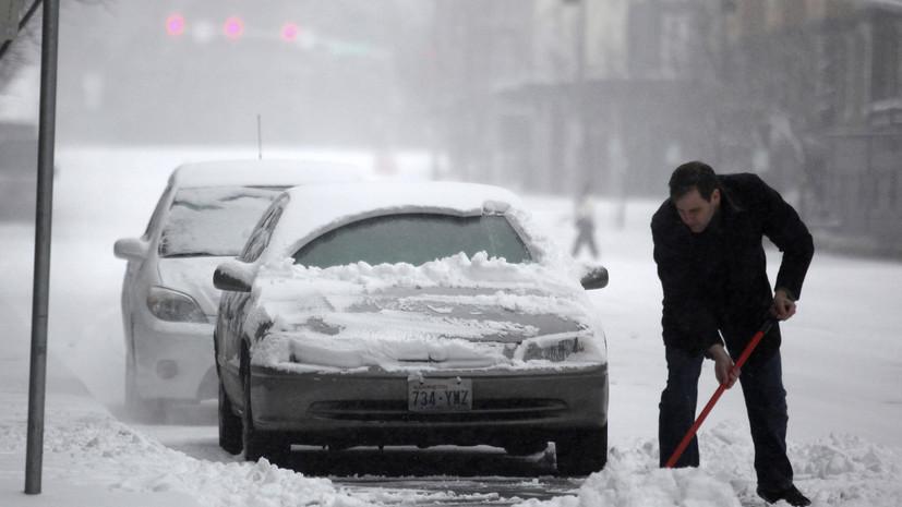 В штате Вашингтон объявлено чрезвычайное положение из-за снегопадов