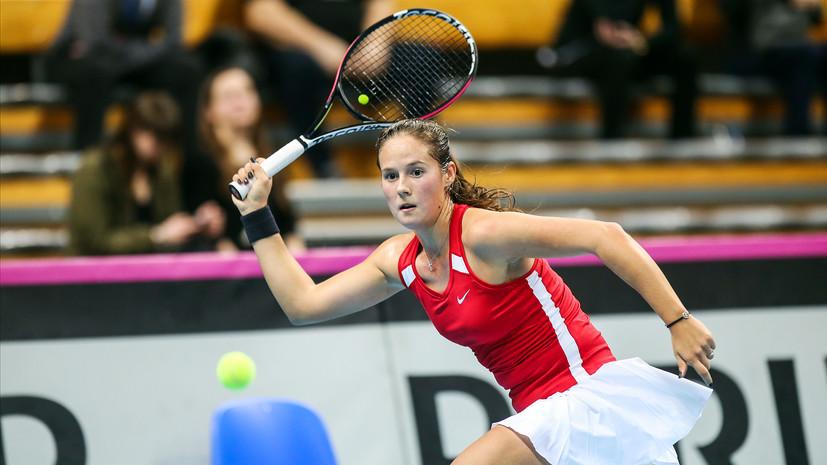 Навстречу элите: женская сборная России по теннису сделала шаг к возвращению в Мировую группу Кубка федерации