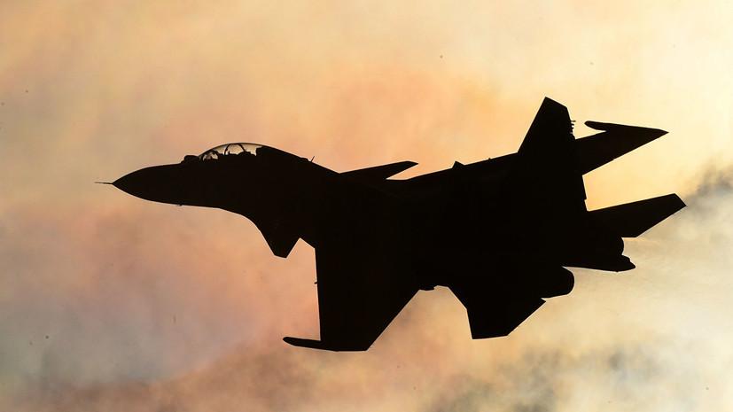 Пилоты группы «Русские витязи» показали новую фигуру высшего пилотажа