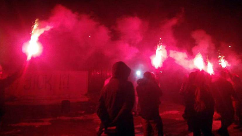 Силовые приёмы: как радикалы стали частью предвыборной борьбы на Украине