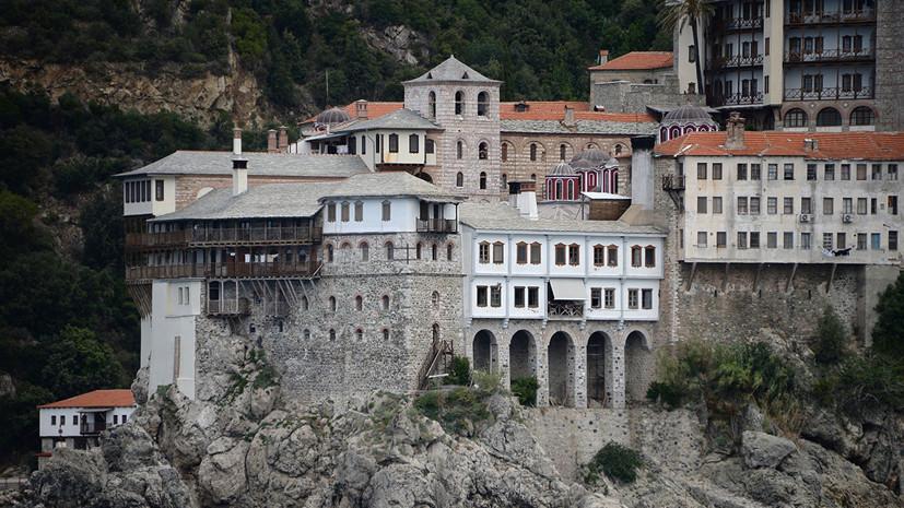 Источник: два монаха на Афоне перешли в русский монастырь из-за Украины