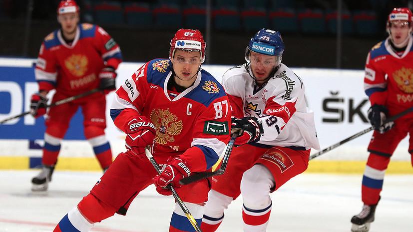 Шипачёв высказался о выступлении сборной России на Шведских хоккейных играх