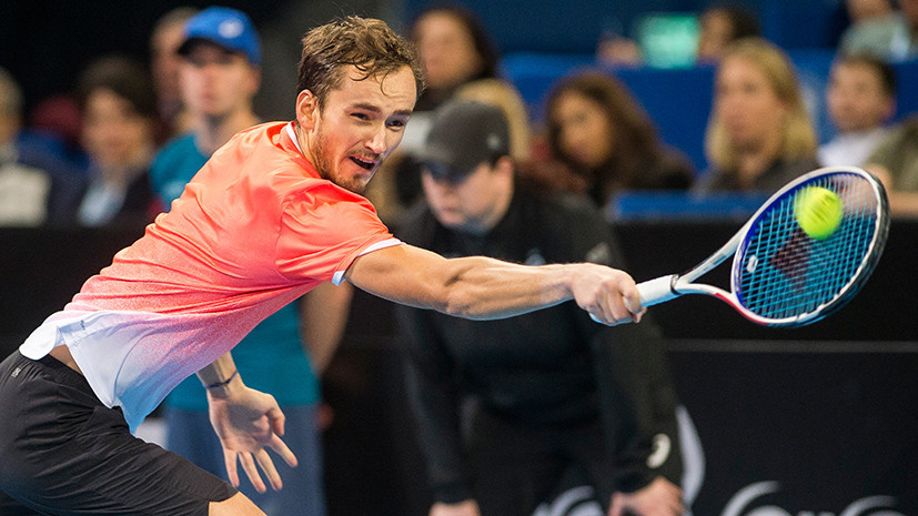 Первый трофей за год: теннисист Медведев выиграл турнир ATP в Софии
