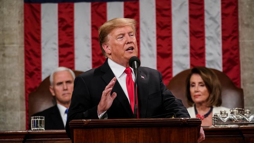 Трамп предположил, что демократы намеренно добиваются шатдауна
