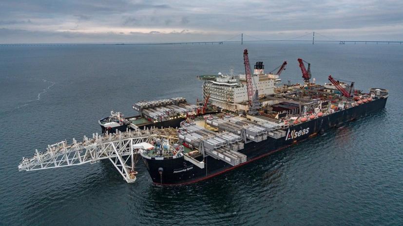 Эксперт оценил заявление ФРГ о «сигнале» критикам «Северного потока — 2»