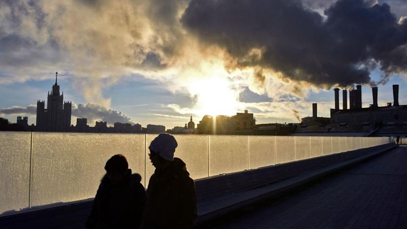 Температура воздуха в Москве превысила норму в начале февраля